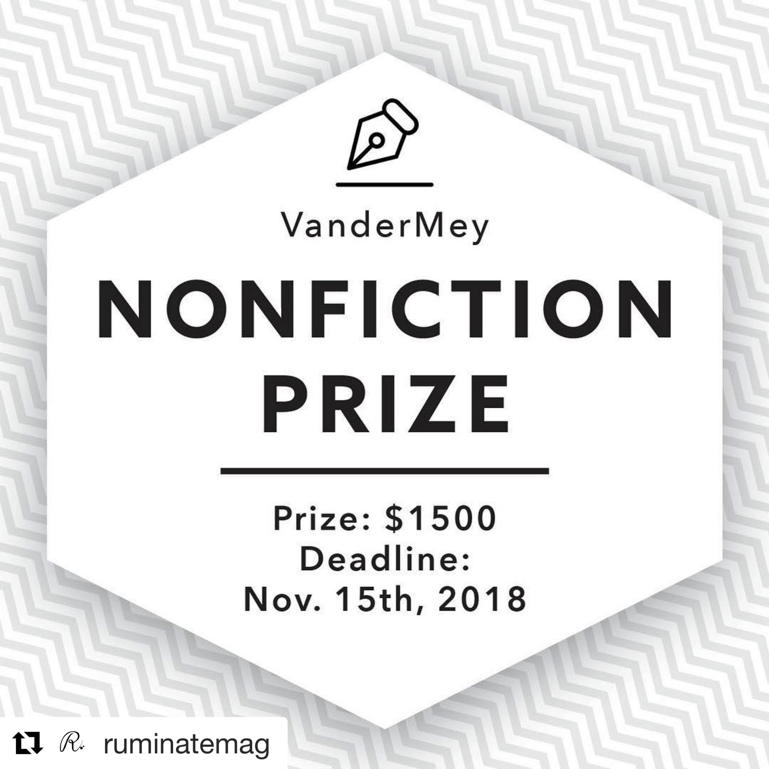 VanderMey Nonfiction Prize