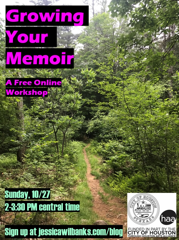 Growing Your Memoir: Free Online Workshop