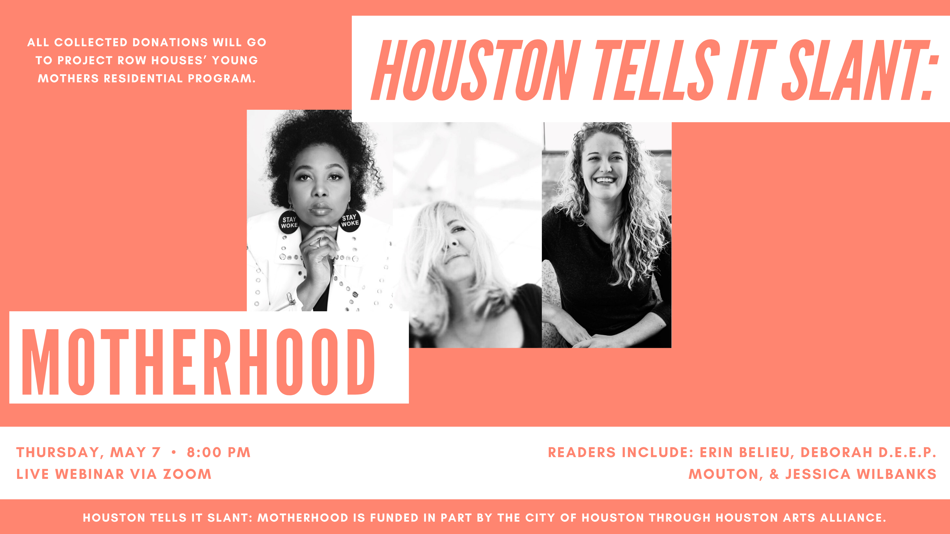 Houston Tells It Slant: Motherhood